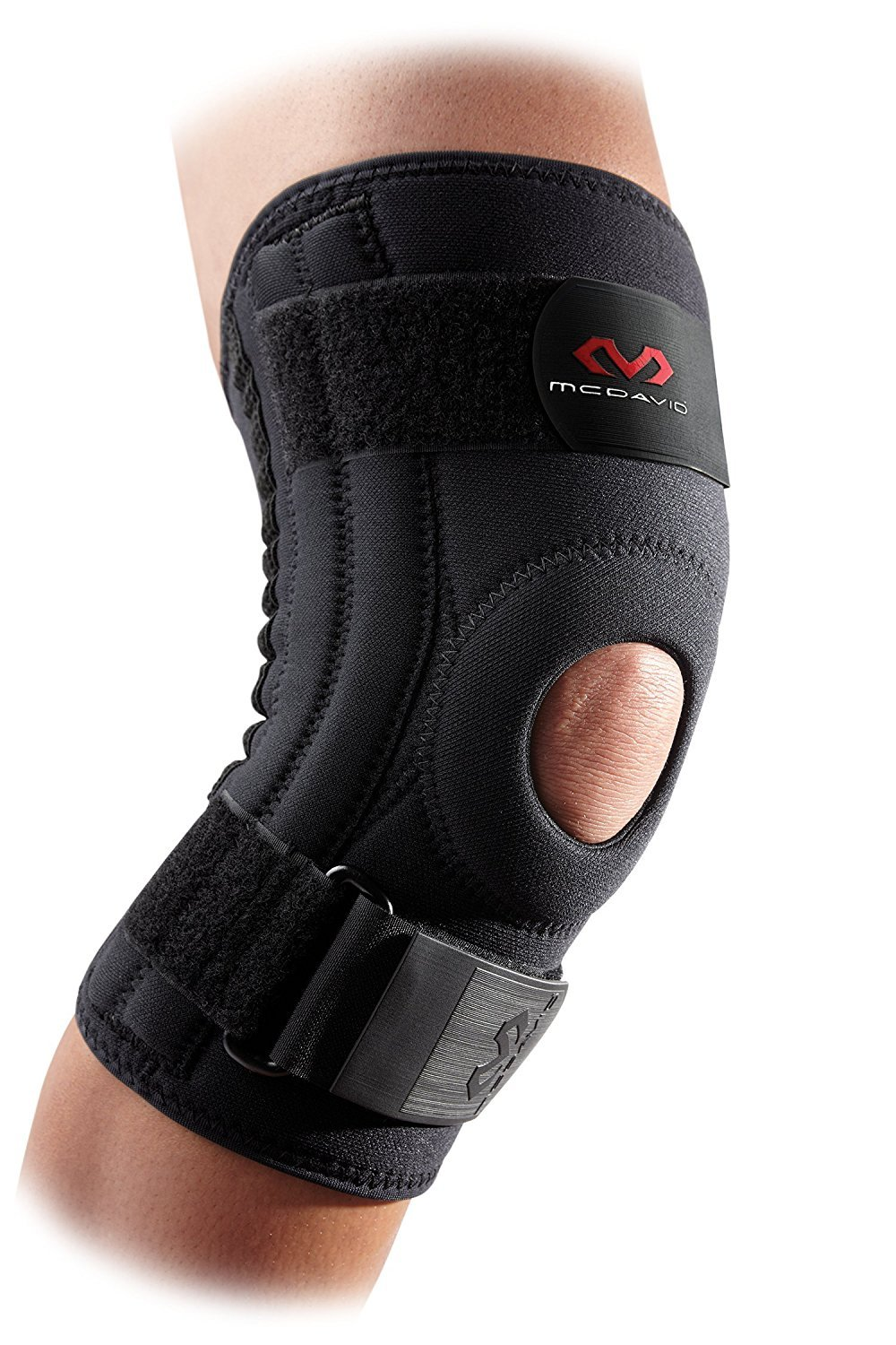 High Quality Knee Brace, Knee Support & Compression for Knee Stability, Patellar Tendon Support, Tendonitis Pain Relief, Ligament Support, Hyperextension, Chondromalacia & Injury Recovery, for Men & Women, Sold as Single Units (1) B07C2JW4F7