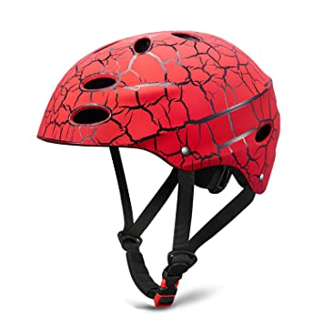 Skate Helmet Skateboard Ajustable Helmet Roller Skate Scooter Casco Ciclista con Carcasa de ABS para niños