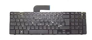 Aquamoon Trading New 0DVNT Genuine OEM Dell Inspiron 17R N7110 5720 7720 XPS 17R L702X Vostro 3750 Laptop Notebook Spanish Latin Keyboard Teclado V119725AK3 Typing Board M22MF 454RX C6PTW 8XNOP