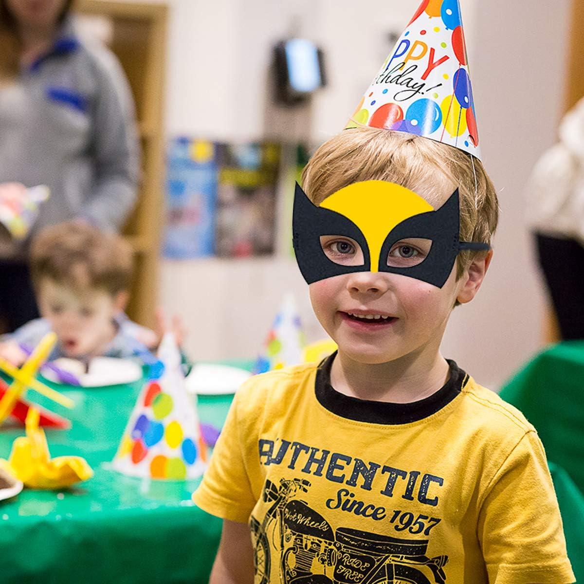 Mighty Avengers Superhelden Party Maske Augenmaske 6 Stück Kindergeburtstag
