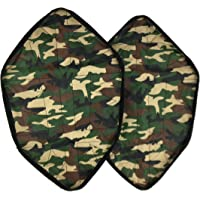 Reusable Hands-free Step in Sock Shoe Cover, Automatic Indoor&Outdoor Waterproof Slip Resistant Fast Shoe Cover (Average Size) (Camo)