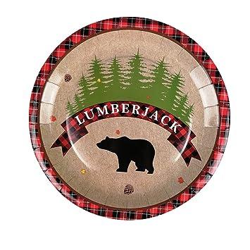 Amazon.com: Lumberjack suministros para fiestas – 24 ...
