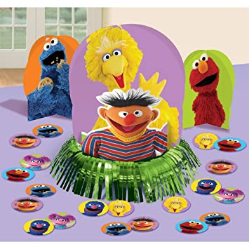 Elmo Sesame Street Party Table Decorations Kit Centerpiece 23 PCS