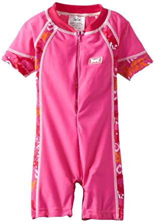 40eac3f613 Amazon.com  Baby BanZ UV One Piece Swim Suit  Infant And Toddler Sun  Protective Swimwear  Clothing