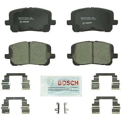 Bosch BC923 QuietCast Premium Ceramic Disc Brake Pad Set For: Pontiac Vibe; Toyota Corolla, Matrix, Front: Automotive