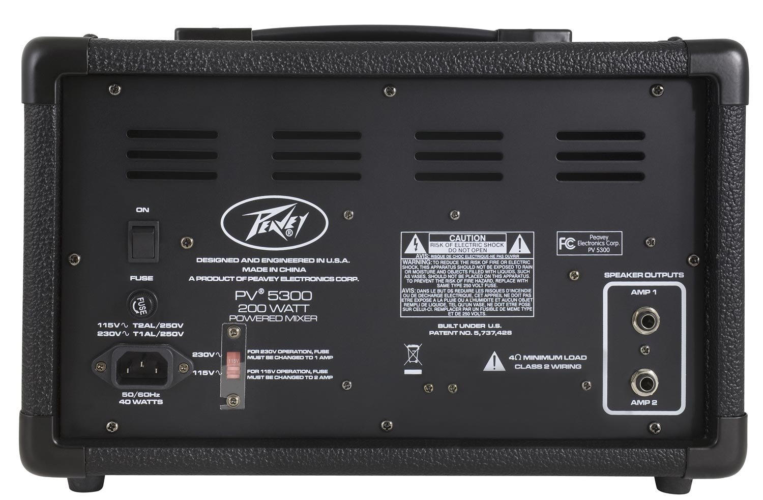 Peavey PV5300 Powered Mixer by Peavey (Image #2)