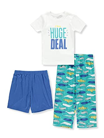 b1426cc12e46 Amazon.com  Carter s Baby Boys  3-Piece Cotton Pajamas  Clothing