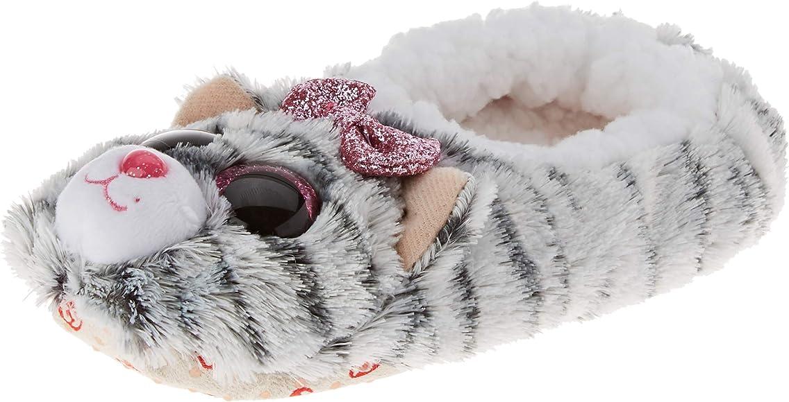 Ty - Pantuflas pequeñas, Talla 30, Color Gris: Amazon.es: Zapatos y complementos