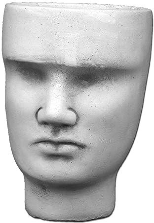 Gartendekoparadies De Wunderschoner Stein Kopf Gesicht Als