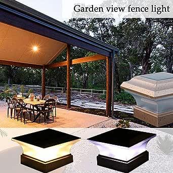 Lámpara solar de jardín para exteriores, con energía solar, LED, para jardín, patio, patio, paseo, etc.: Amazon.es: Iluminación