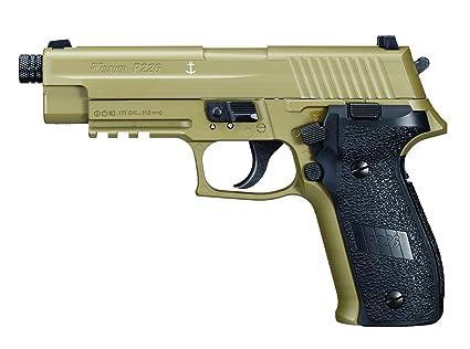 Amazon.com : Sig Sauer AIR-226F-177-12G-16-FDE P226 Pistol 177 ...