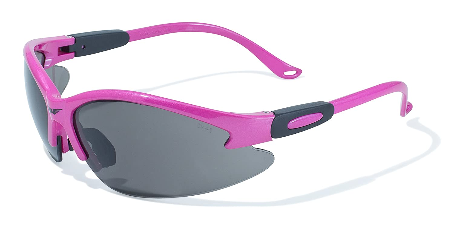 Global Vision Eyewear Pink Frame Cougar Safety Glasses Cougar PK CL