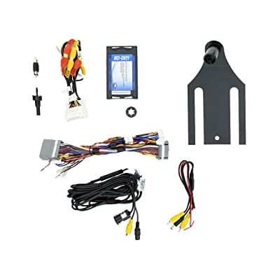 EchoMaster – Jeep Wrangler JK Backup Camera Kit: Waterproof Reverse Camera with Parking Guidelines & Plug-and-Play Video Interface; Compatible with OEM MyGig Radios; No Dealer Programming Required: Car Electronics