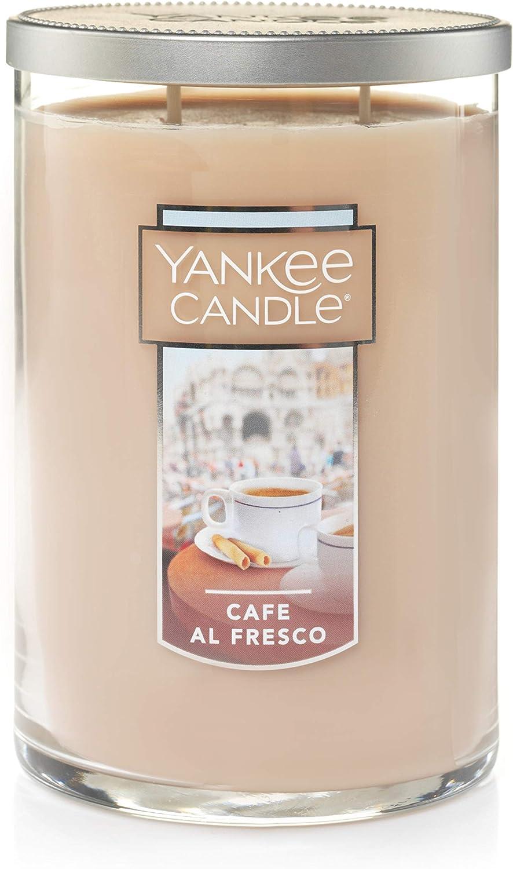 Yankee Candle Large 2-Wick Tumbler Candle, Café Al Fresco