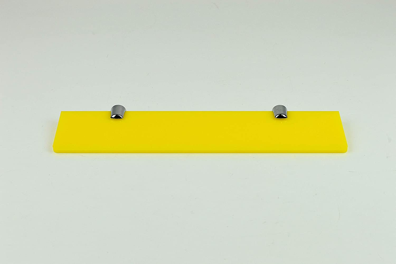 PDS9005 Black 1 x Small Black Acrylic Shelf 150mm x 210mm with fixings