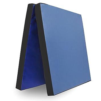 Grevinga - Colchoneta de gimnasio plegable | Azul - Negro ...