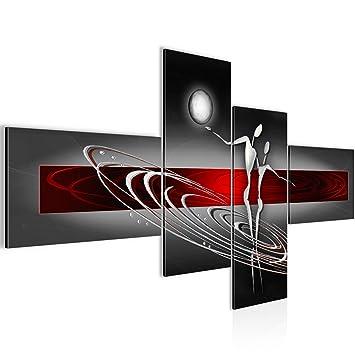 Bilder Abstrakt Figuren Wandbild 160 x 80 cm Vlies - Leinwand Bild ...