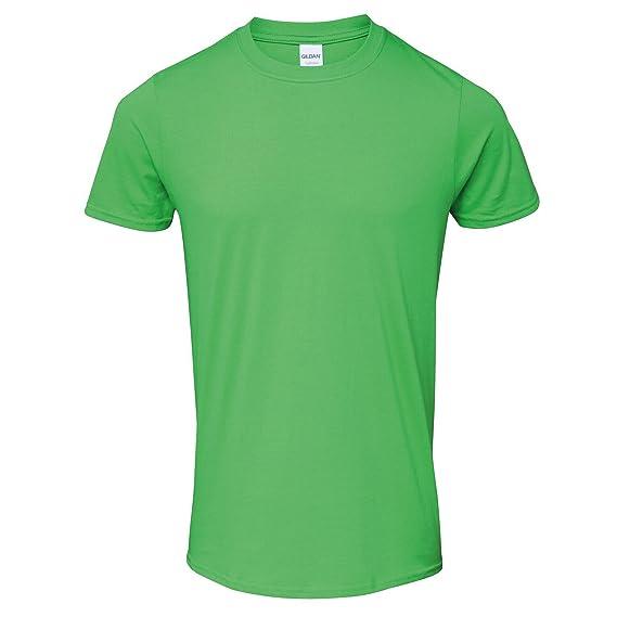 Gildan - Camiseta de manga corta Modelo Soft-Style hombre caballero: Amazon.es: Ropa y accesorios