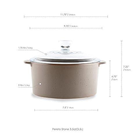 Cerámica Hornillo, cocina de Robin de Pareto piedra de karité: Amazon.es: Hogar