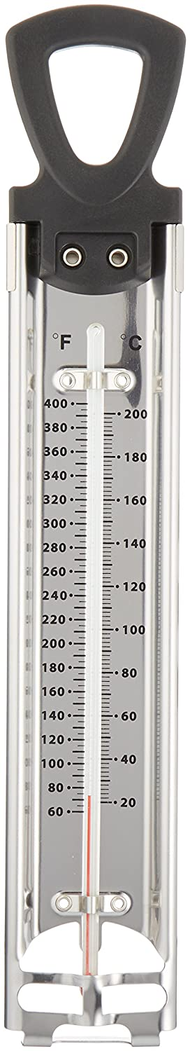Sammons Preston Heavy-Duty Thermometer, Heat Measuring Gauge for Testing Temperature of Heat Pack Tanks, Easy to Read, Can Be Fully Submerged in High Temperature Water, Reads in Fahrenheit and Celsius