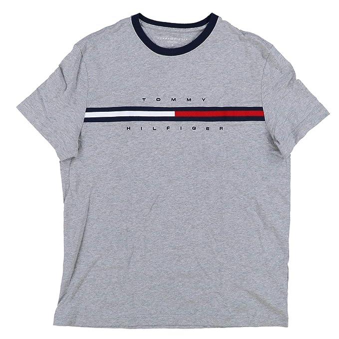 3ee9c9514a1 Tommy Hilfiger Camiseta Clásica Logo Big Line para Hombre  Amazon.es  Ropa  y accesorios