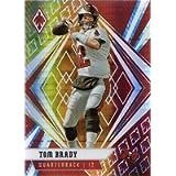 2020 Panini Phoenix Fire Burst #35 Tom Brady Football Card - Tampa Bay Buccaneers