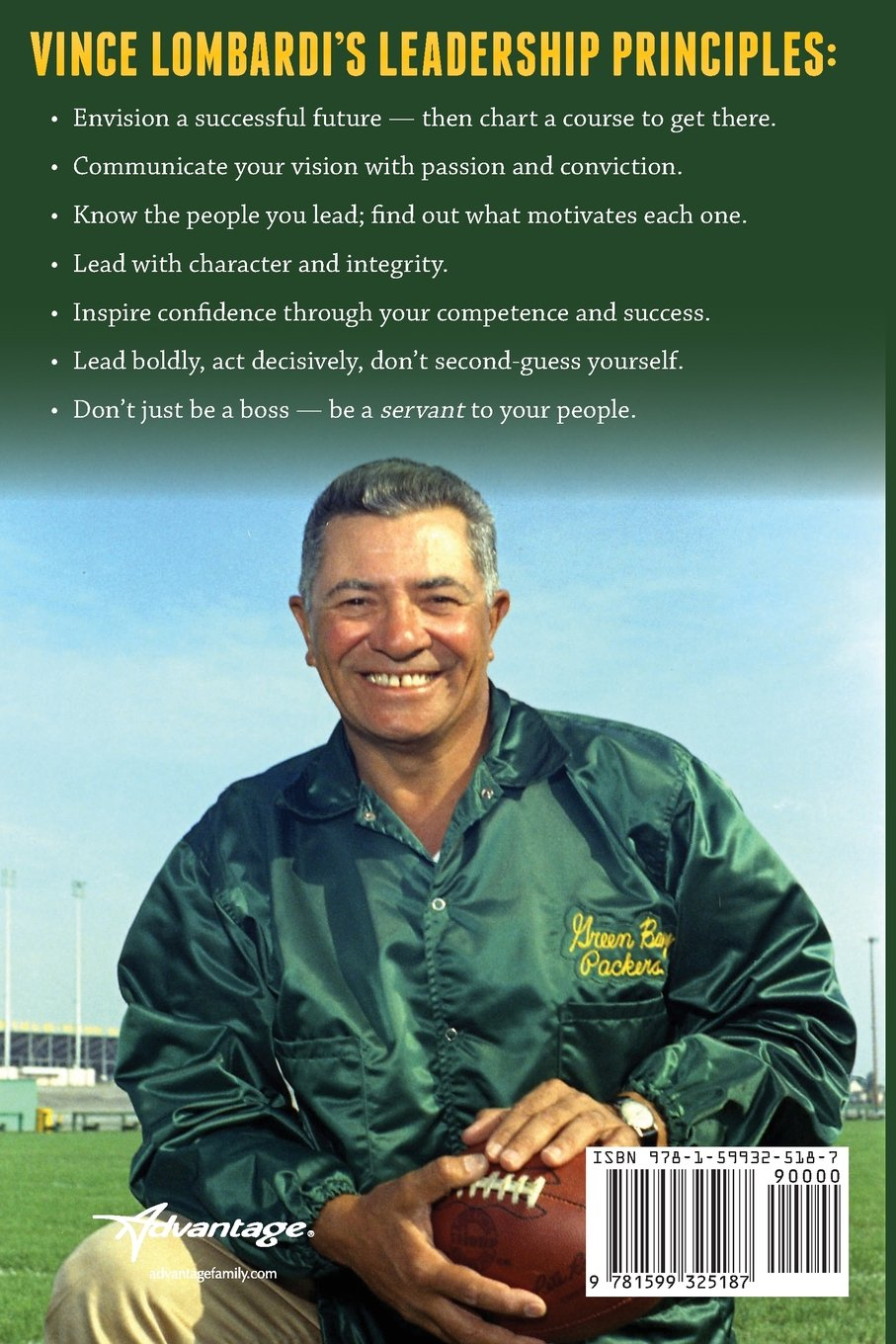 Vince Lombardi on Leadership: Life Lessons from a Five-Time NFL  Championship Coach: Pat Williams, Jim Denney: 9781599325187: Amazon.com:  Books
