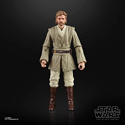 """Star Wars The Black Series OBI-Wan Kenobi (Jedi Knight) Toy 6"""" Scale Attack of The Clones Collectible Figure, Ages 4 & Up: Toys & Games"""