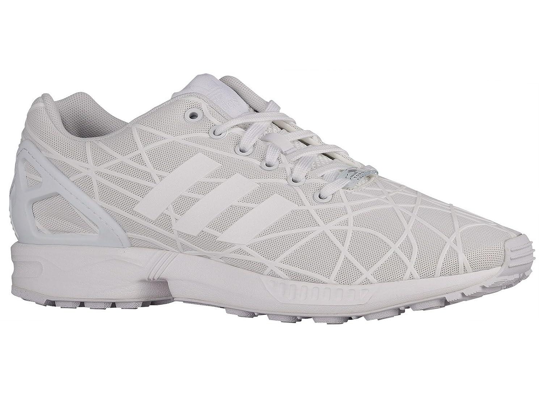 best authentic d8d50 cfa5e Amazon.com   Adidas Men's ZX Flux White/White/White ...