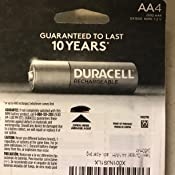 Amazon.com: Duracell AA NiMH rechargeable blister pack, 4