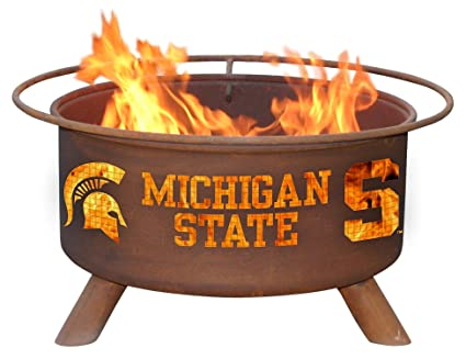 Patina Products F403 Michigan State Fire Pit - Amazon.com : Patina Products F403 Michigan State Fire Pit : Michigan