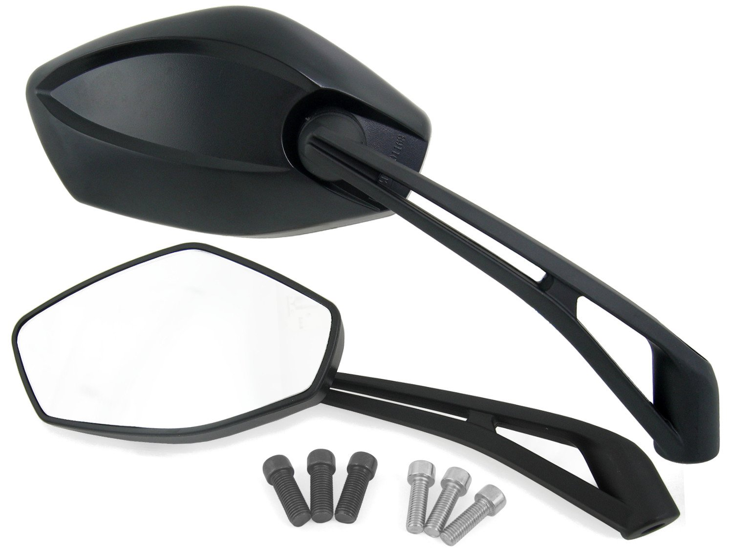 Set specchietto universale Aprilia and Buell Motorcycle M10 Filetto // M8 Filetto
