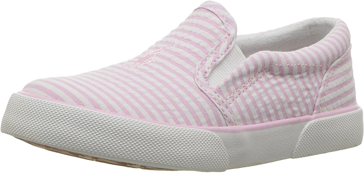 8d4faf163 Polo Ralph Lauren Kids Girls  BAL Harbour II Sneaker