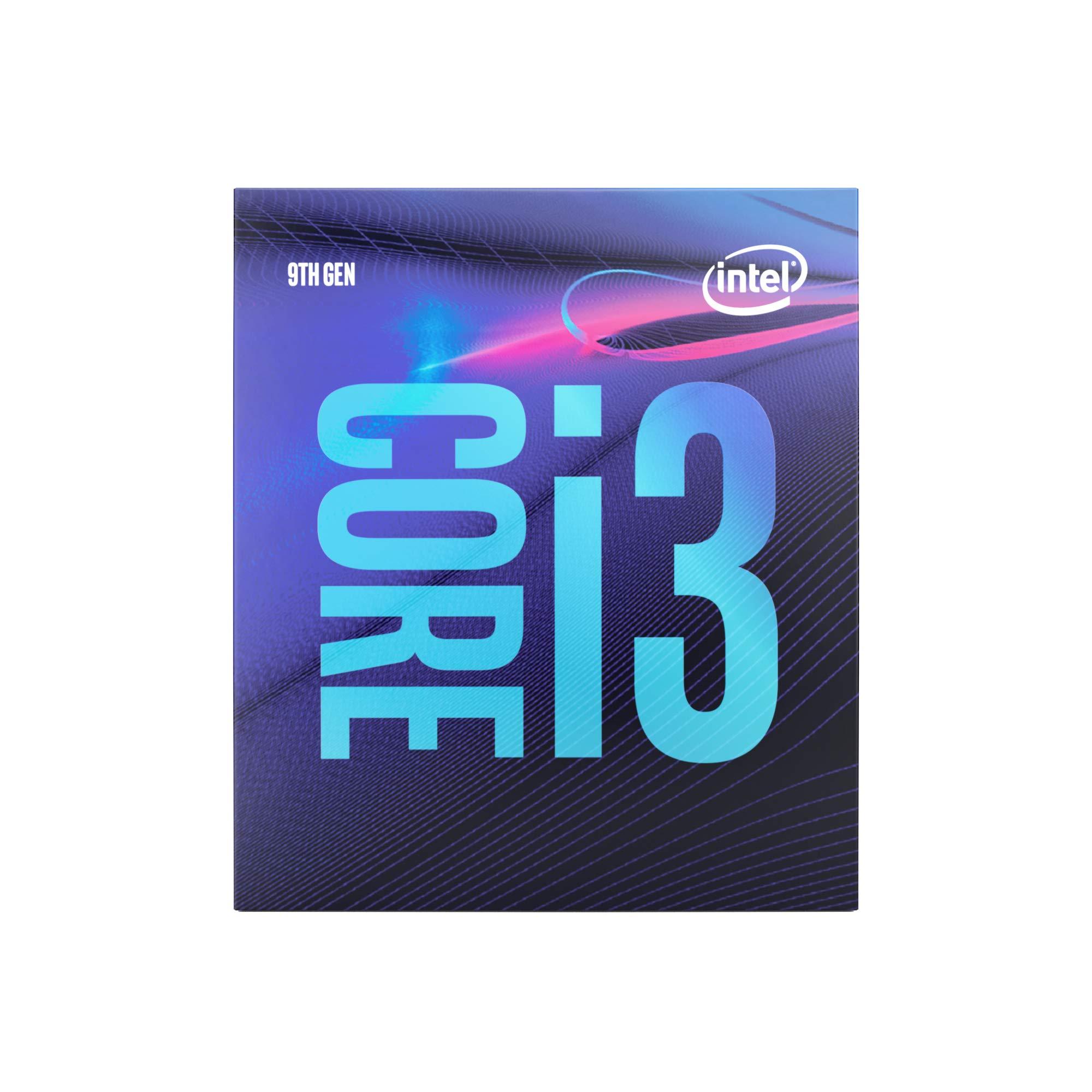 Intel Core i3-9100 Desktop Processor 4 Cores up to 4.2 GHz LGA1151 300 Series 65W by Intel