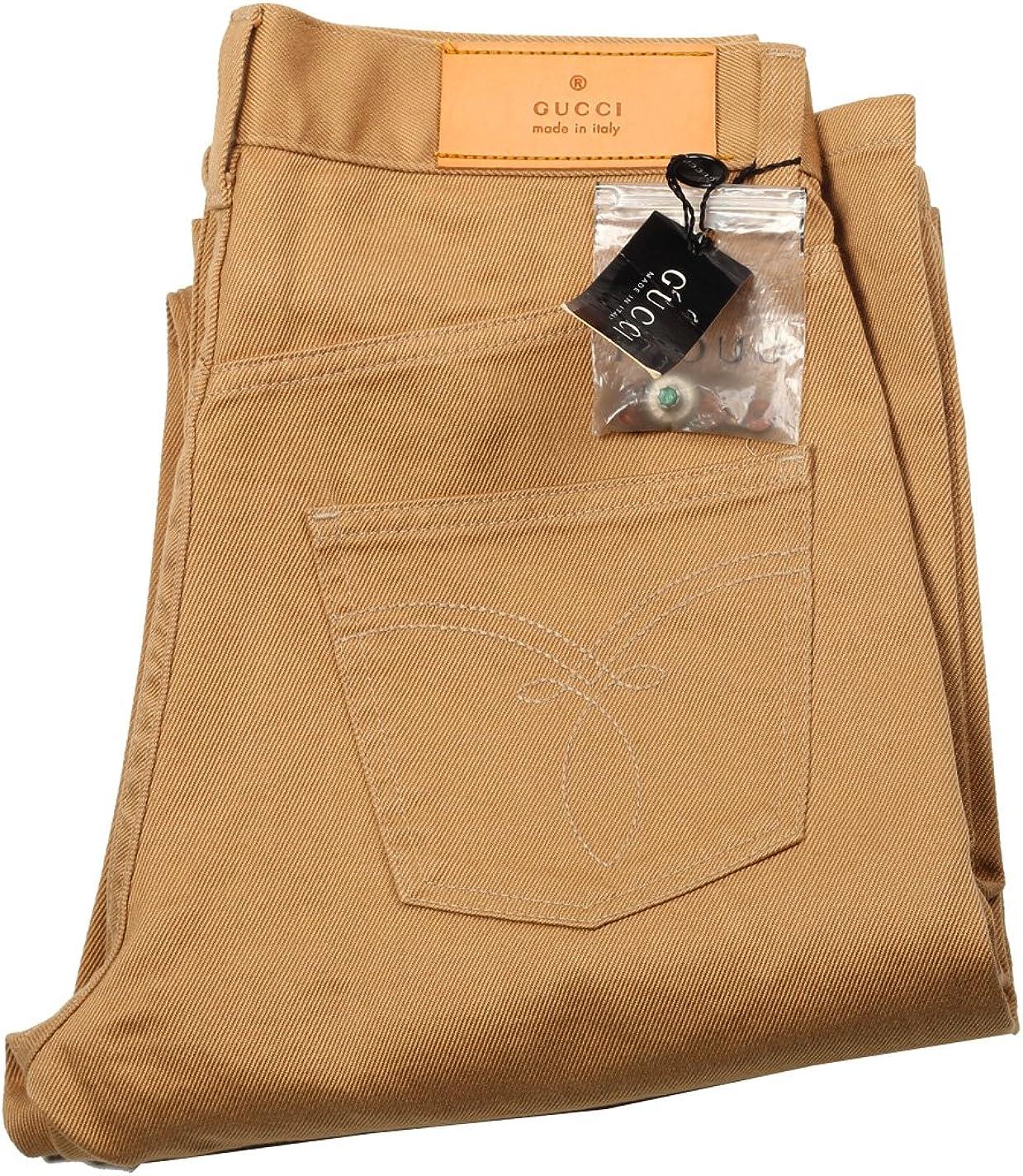 Gucci CL Beige Trousers Size 44/28 U.S. In Cotton