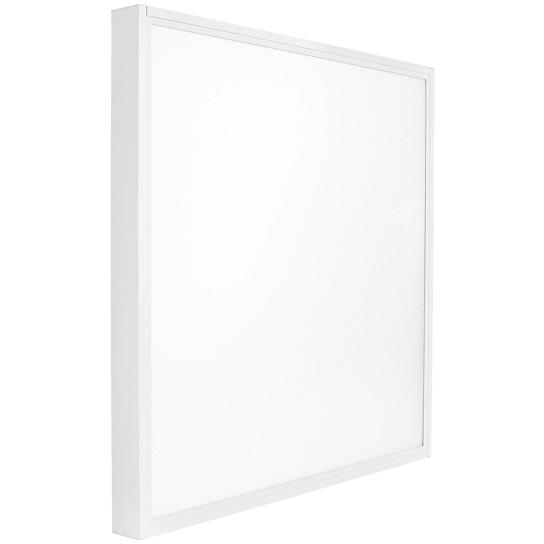 Rahmen Lumira LED Panel 62x62 cm Neutralwei/ß Blendfrei inkl 50W Trafo Aufbauleuchte