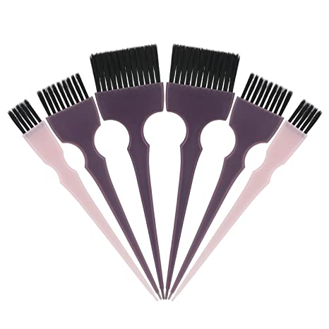 Segbeauty Cepillo del Tinte para el Cabello, 6pcs Tint Brush Set ...