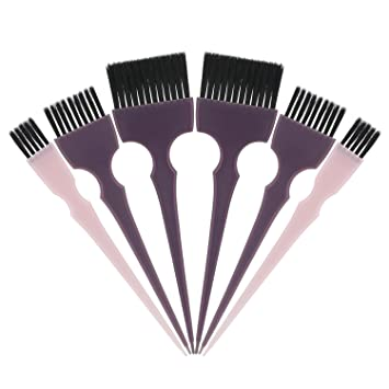 Amazon.com: Segbeauty Hair Dye Brush, 6pcs Tint Brush Set Hair ...