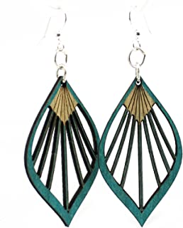 product image for Fan Leaf Palm Earrings