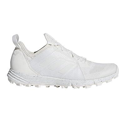 adidas outdoor Terrex Agravic Speed Shoe - Women's Non-Dyed/White/Chalk White 10 | Trail Running