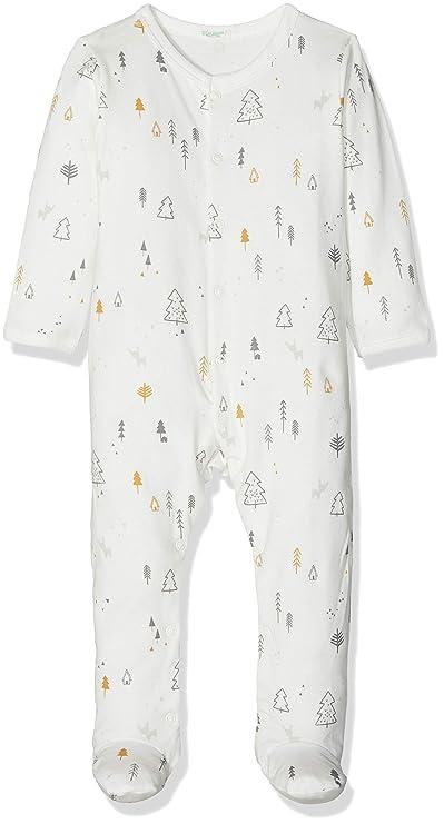 United Colors of Benetton Pyjama Overall, Pijama para Bebés: Amazon.es: Ropa y accesorios