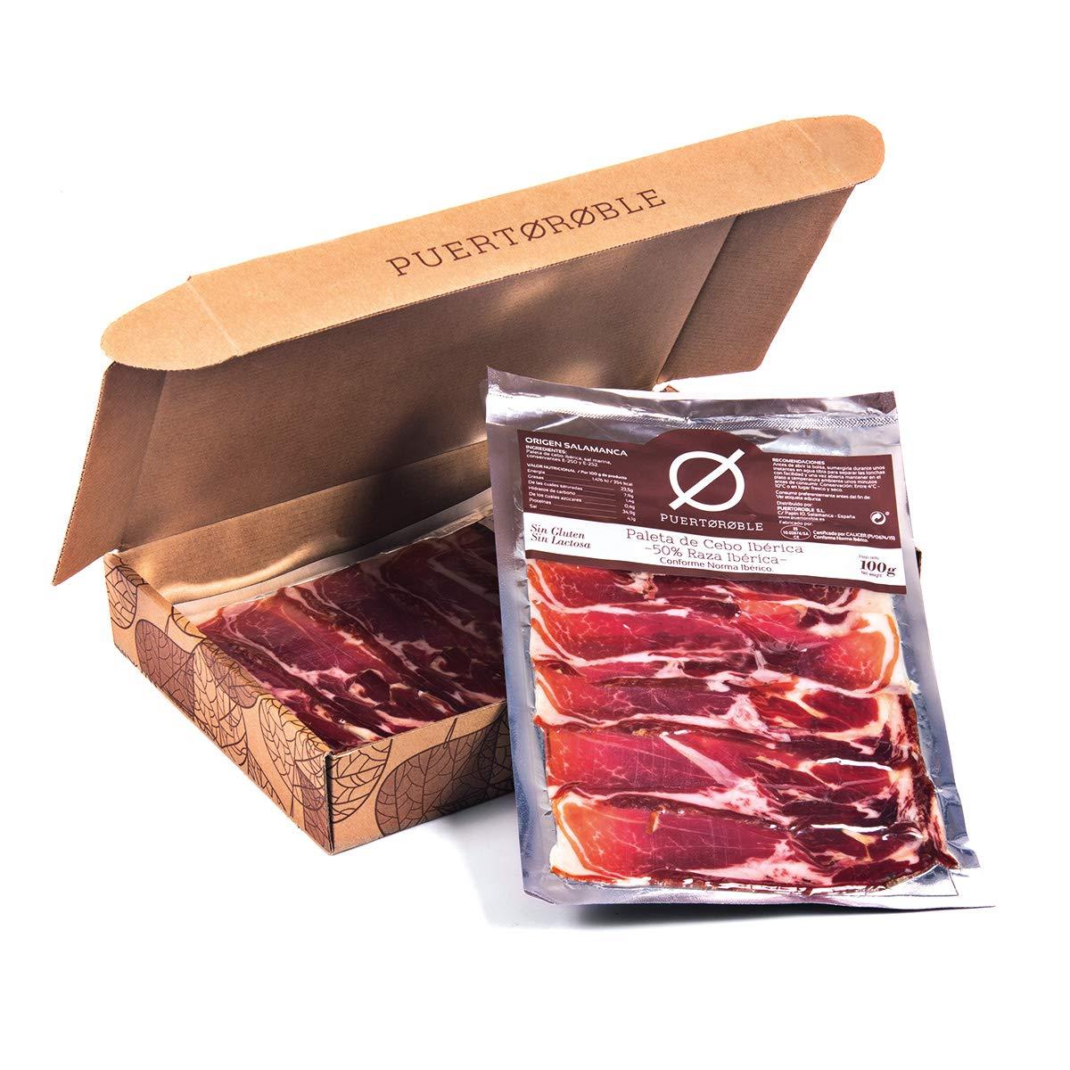 Paleta Cebo Ibérico 5 packs | Paletilla Deshuesada Ibérica | Envasada al vacío: Amazon.es: Alimentación y bebidas