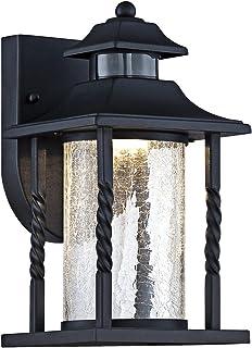 Amazon designers fountain 2371md mp sedona motion detector westray 11 12 h black motion sensor led outdoor wall light aloadofball Images