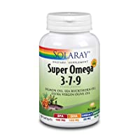 Solaray Super Omega 3 7 9 | Supports Healthy Skin, Cardiovascular Function, More...