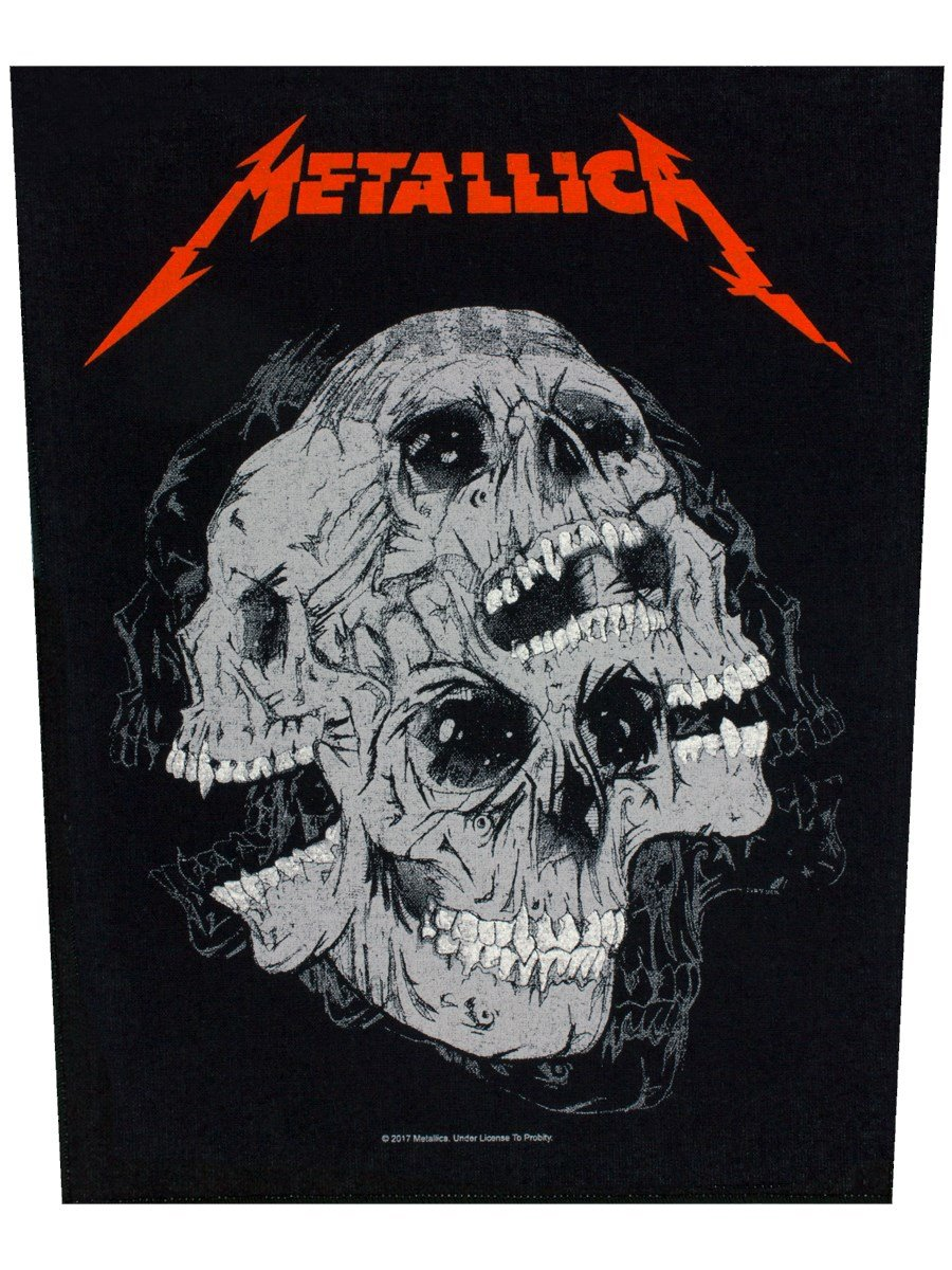 Metallica Skulls Toppe schiena multicolore Razamataz