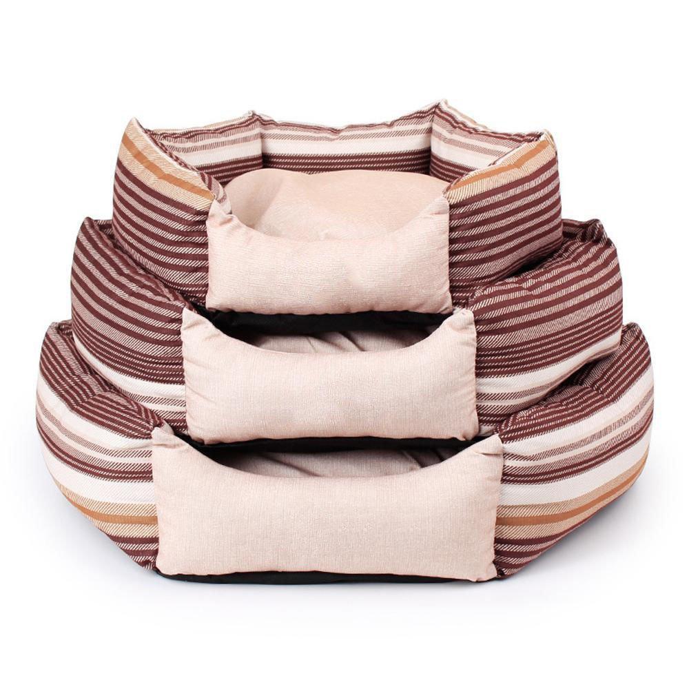 C Weiwei Dog bed Sand Release Hexagon Kennel three piece set pet bed mat sand release, pp cotton