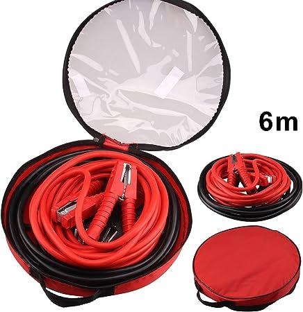 Multiware Starthilfekabel Set Überbrückungskabel Starterkabel Kabel 1500amper 2x6m Kfz Pkw Auto
