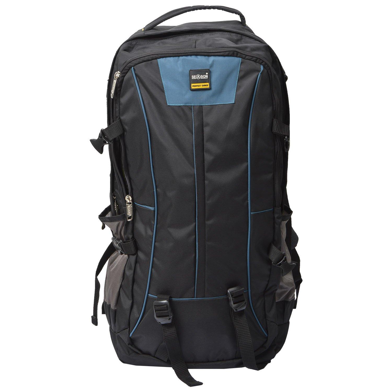 Buy Season 60 Liters Black Blue Grey Casual Backpack At Amazon In