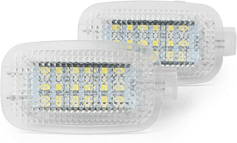 2x Led Modul Fussraumbeleuchtung Ausstiegsbeleuchtung Kofferraumbeleuchtung Für W176 W246 W242 W204 W205 Cla C117 Cla X117 X218 W212 X156 Glc X253 X204 W166 R172 Auto
