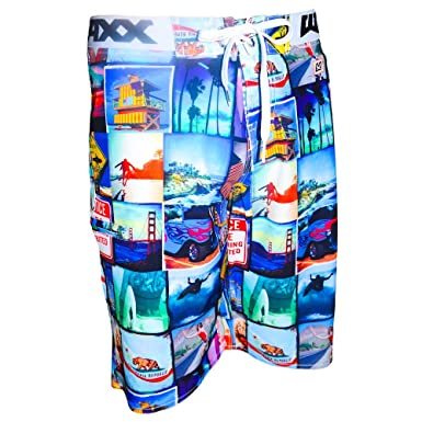 6b291623f9 Waxx Mens Swim Shorts Baywatch: Amazon.co.uk: Clothing
